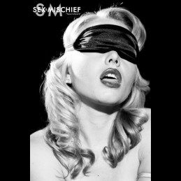 S&M - Satin black blindfold