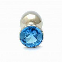 Rosebuds - Aquamarine Swarovski Cristal Plug 27 mm