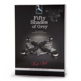 Fifty Shades of Grey - Keep Still over the bed cross restrain