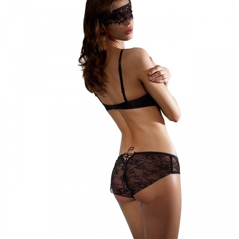 50 SHADES OF GREY - CORSET BACK KNICKERS