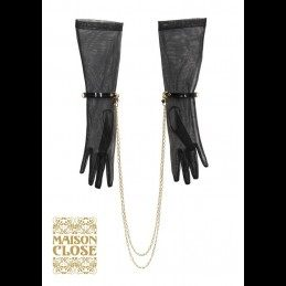 MAISON CLOSE AND FRAULEIN KINK - LE BAISE MAIN - GLOVE BLACK