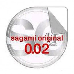 SAGAMI ORIGINAL 0.02 NON-LATEX CONDOMS 2 PCS