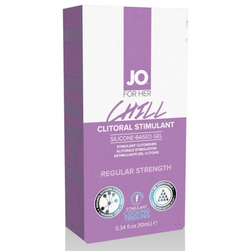 SYSTEM JO - CLITORAL GEL ATOMIC OR ARCTIC 10 ML