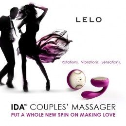 Lelo - Ida remote control couples vibrator