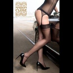 Maison Close - Nylon Stockings Black 15D
