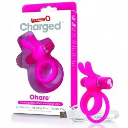 THE SCREAMING O - CHARGED OHARE RABBIT VIBE PENIS RING
