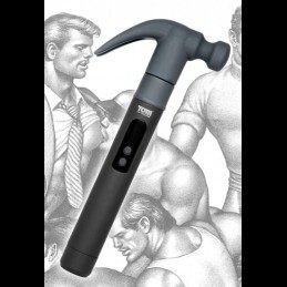 "TOM OF FINLAND TOOLS - ""KUMMINUI"" VIBRAATOR JA HAAMER"