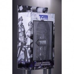 TOM OF FINLAND TOOLS - CLEAR SMOOTH COCK ENCHANCER