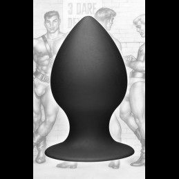 TOM OF FINLAND TOOLS - SILICONE ANAL PLUG XL