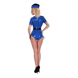 GP - DATEX SEXY POLICE COSTUME BLUE