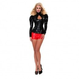 GP - DATEX LATEX RED HOTPANTS