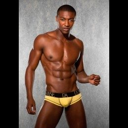 DOREANSE - MENS BRIEFS YELLOW