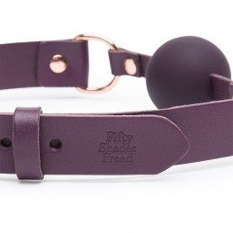 FIFTY SHADES OF GREY - FREED CHERISHED COLLECTION LEATHER BALL GAG