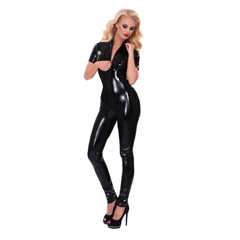 GP - DATEX CATSUIT WITH ZIPPER ON THE BUST