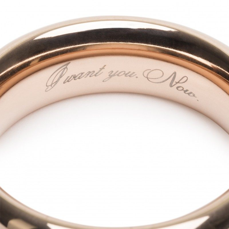 FIFTY SHADES OF GREY - FREED STEEL LOVE RING