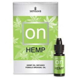 SENSUVA - ON FOR HER HEMP OIL INFUSED AROUSAL OIL 5 ML