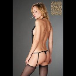 PETIT SECRET - OPENABLE THONG BODY IN LACE