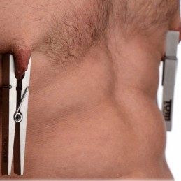 TOF - BROS PIN STAINLESS STEEL NIPPLE CLAMPS