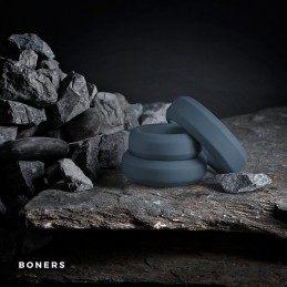 BONERS - 3 FLAT COCK RING KIT