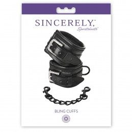 SPORTSHEETS - SINCERELY BLING CUFFS