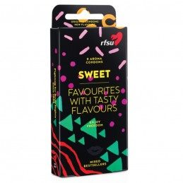 RFSU - SWEET CONDOMS 8 PCS