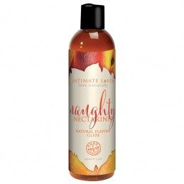 INTIMATE EARTH - NATURAL FLAVORS GLIDE NAUGHTY NECTARINES