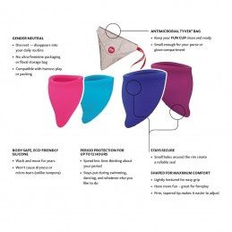 FUN FACTORY - SIZE B MENSTRUAL CUP