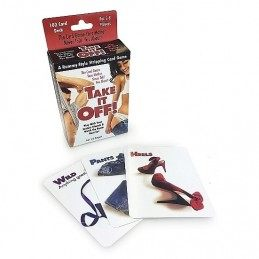 TAKE IT OFF - STRIPPING CARD GAME