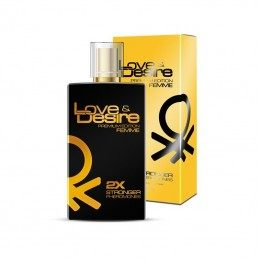 LOVE & DESIRE GOLD FEMME VAPORISATEUR NATURAL SPRAY PHEROMONES