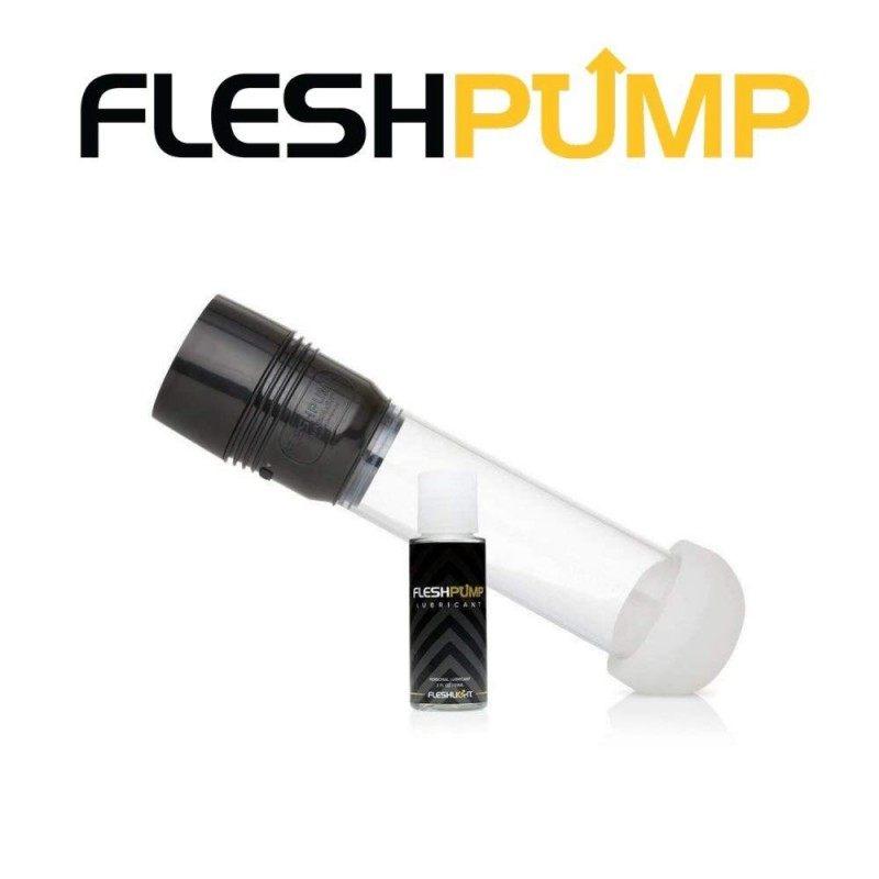 FLESHLIGHT - FLESHPUMP ELECTRIC PENIS PUMP