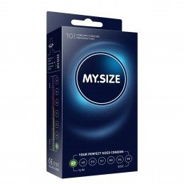 MY SIZE - NATURAL LATEX CONDOMS 10 PIECES