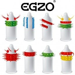EZGO STIMULATING CONDOM