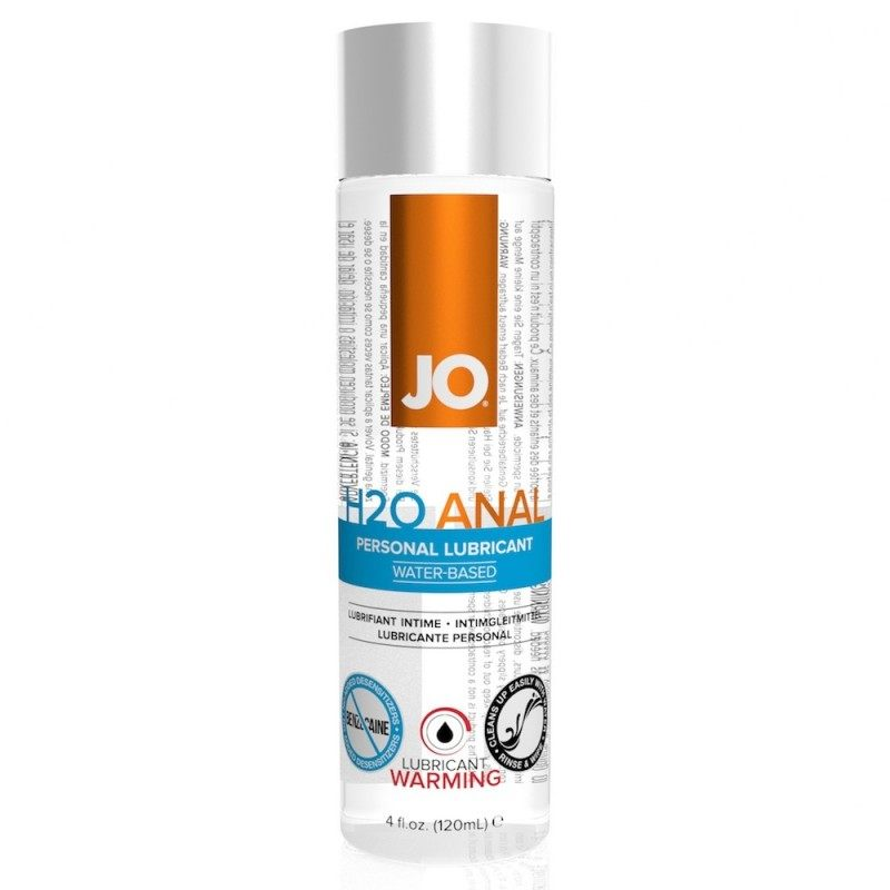 SYSTEM JO - ANAL H2O LUBRICANT WARMING