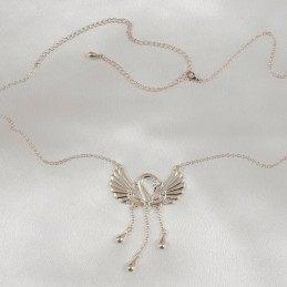 SYLVIE MONTHULE - SILVER WAISTCHAIN SWAN