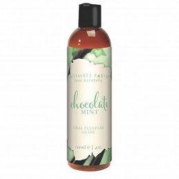 INTIMATE EARTH - NATURAL FLAVORS GLIDE CHOCOLATE MINT 120 ML