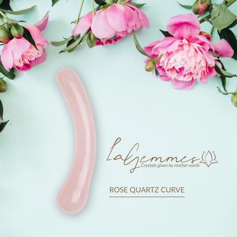LA GEMMES - G CURVE ROSE QUARTZ