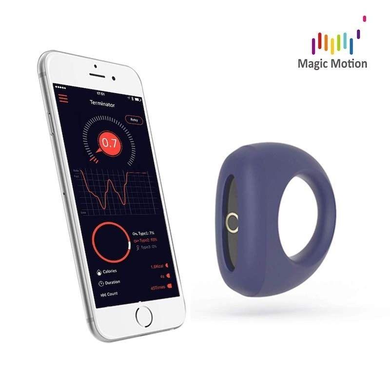 MAGIC MOTION - DANTE SMART PENIS RING