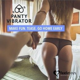 FEELZTOYS - PANTY VIBE REMOTE CONTROLLED VIBRATOR