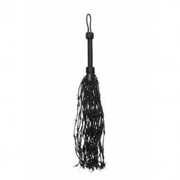 PAIN - LEATHER BARBED WIRE FLOGGER