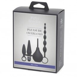 FSOG - PLEASURE OVERLOAD STARTER ANAL KIT (4 PIECE KIT)