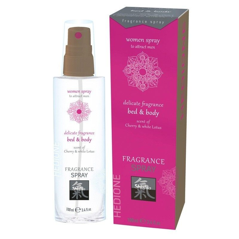 SHIATSU - BED & BODY PHEROMONE SPRAY FOR WOMEN TO ATTRACT MEN