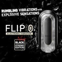 TENGA - FLIP ZERO 0 ELECTRONIC BLACK MASTURBAATOR