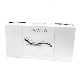 LE WAND - STAINLESS STEEL SWERVE DILDO
