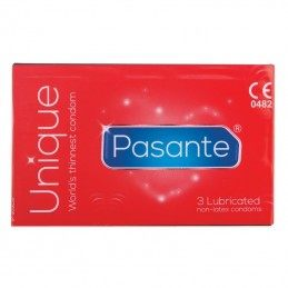 PASANTE UNIQUE LATEXFREE CONDOMS 3PCS