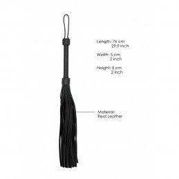 PAIN - HEAVY LEATHER TAIL FLOGGER