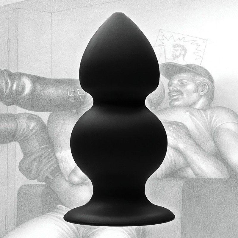 TOF - RASKENDATUD ANAAL PLUG SILIKOONIST