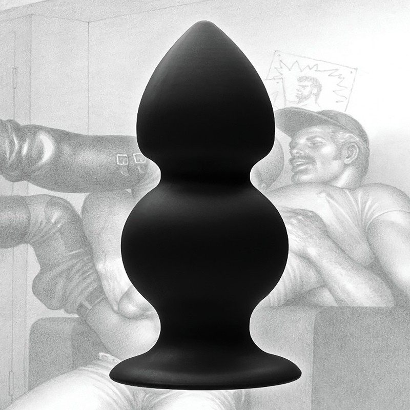 TOF - WEIGHTED SILICONE ANAL PLUG