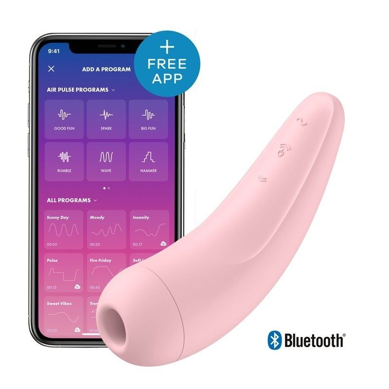 SATISFYER - CURVY 2+ AIR PULSE STIMULATOR + VIBRATION
