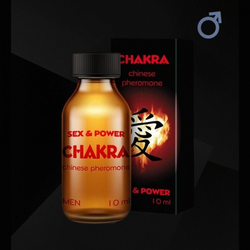 CHAKRA SEX & POWER CHINESE PHEROMONES FOR MEN 10ML