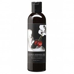 EARTHLY BODY - CHERRY EDIBLE MASSAGE OIL 237ml